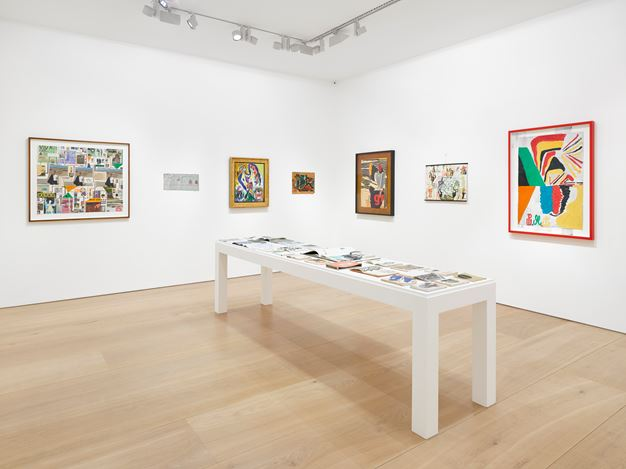 Exhibition view: Group Exhibition, Asger Jorn, Per Kirkeby, Tal R, Victoria Miro, Mayfair, London (23 January–23 March 2019). © Tal R, Per Kirkeby and Donation Jorn, Silkeborg/billedkunst.dk/DACS 2019. Courtesy the artists and Victoria Miro, London/Venice.