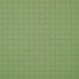 Color Code of a World Political Map, Little Fat Flesh Puzzled Face (White Green) 《小肥姘拼圖 - 七色政治地圖拼貼 (粉綠) 》 by Inga Svala Thórsdóttir & Wu Shanzhuan contemporary artwork mixed media