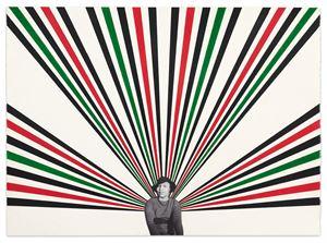 Zora #2 by Rico Gatson contemporary artwork