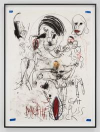 A&E, CAT PUSS, Santa Anita session by Paul McCarthy contemporary artwork works on paper, drawing
