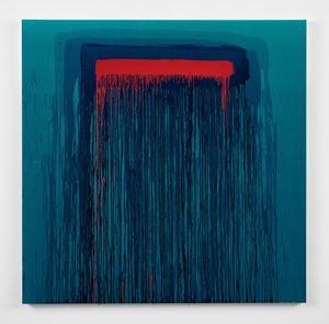 Considering Rothko #3 by Pat Steir contemporary artwork