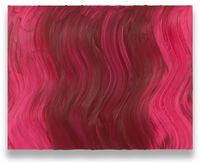 Untitled (Brilliant pink / Ideal rose) by Jason Martin contemporary artwork painting