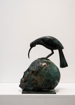 Huia Talks to Death by Paul Dibble contemporary artwork