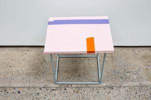 Untitled Stool 06 by Eva Rothschild contemporary artwork