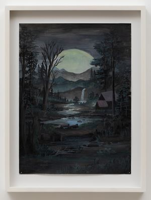 Moonlight Cabin by Neil Raitt contemporary artwork