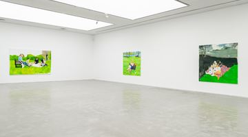 Contemporary art exhibition, Zhu Jia, Recent Paintings at ShanghART, Westbund, Shanghai