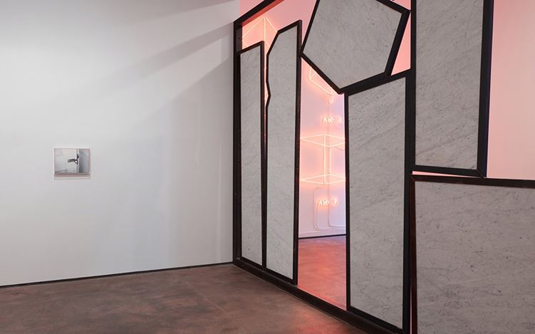 Exhibition view: Group Exhibition, EDIFICE, COMPLEX, VISIONARY, STRUCTURE, Sean Kelly, New York (6 January-3 February 2018). Courtesy Sean Kelly, New York. Photo: Jason Wyche, New York.