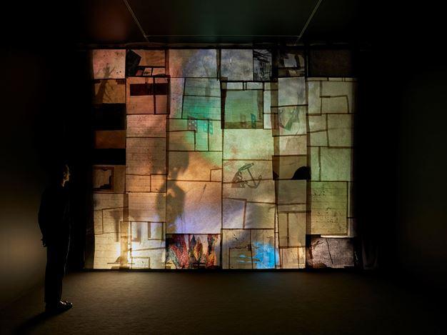 Exhibition view: Jockum Nordström, The Anchor Hits the Sand, David Zwirner, London (22 November–19 December 2019).  © Jockum Nordström. Courtesy the artist and David Zwirner.