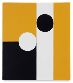 Half of Half #6 by Frederick Hammersley contemporary artwork