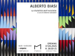 """Alberto Biasi<br><em>The Visibility of the Invisible</em><br><span class=""""oc-gallery"""">M77</span>"""
