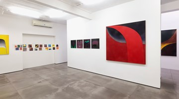Contemporary art exhibition, Tomie Ohtake, On the Tips of the Fingers at Galeria Nara Roesler, Rio de Janeiro