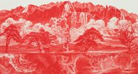 Between Red-015SEP02 by Lee Seahyun contemporary artwork painting