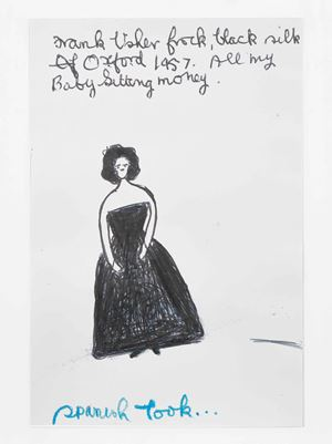 Spnanish Look... by Rose Wylie contemporary artwork