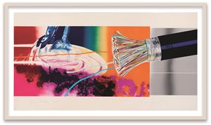 Horse Blinders (east) by James Rosenquist contemporary artwork