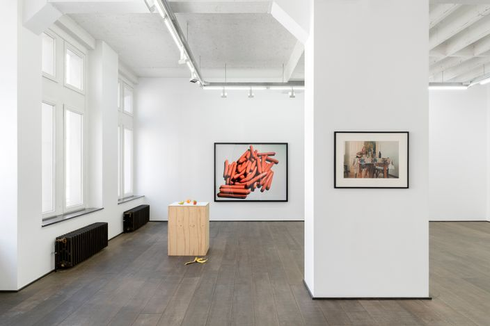 Exhibition view: Group Exhibition, Breakfast Club, rodolphe janssen, Brussels (24 April–22 May 2021). Courtesy rodolphe jassen. Photo: HV photography.