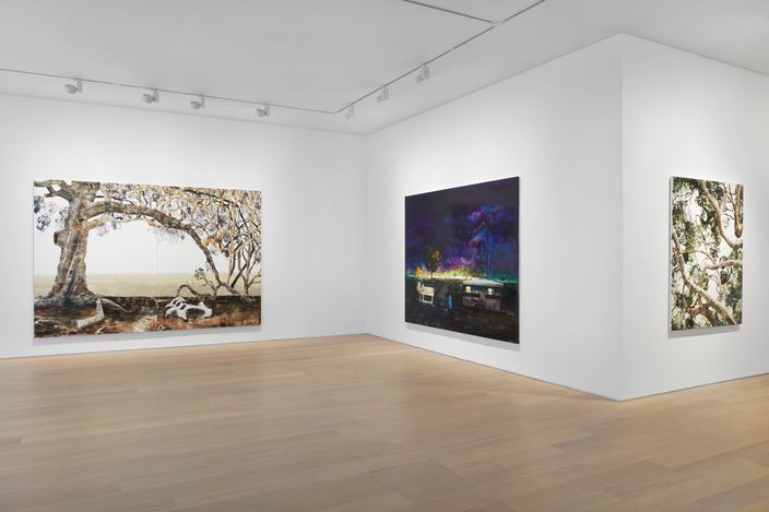 Exhibition view: William Mackinnon, Strive for the light, Simon Lee Gallery, London (20 October–8 December 2020). Courtesy Simon Lee Gallery