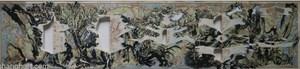 Railway Map in Japanese Showa Period by Sun Xun contemporary artwork