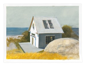 Outpost by Bo Bartlett contemporary artwork
