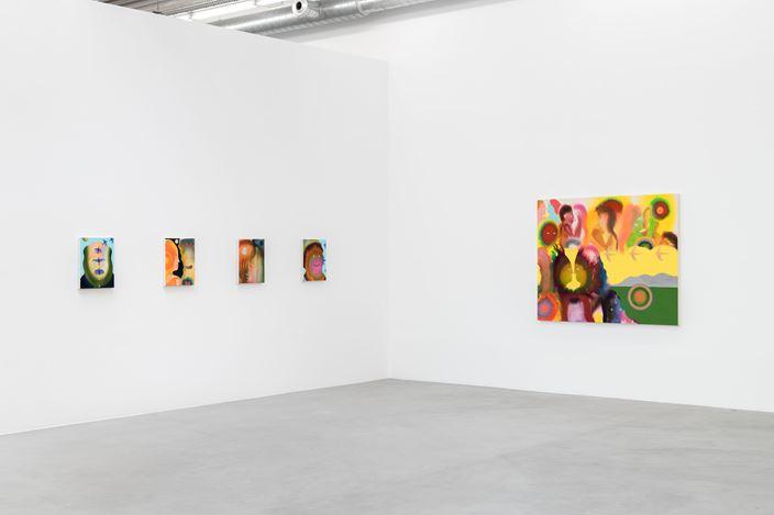 Exhibition view: Aaron Johnson, Other Earths, Almine Rech, Brussels (11 March–10 April 2021). Courtesy the artist and Almine Rech. Photo: Hugard & Vanoverschelde.