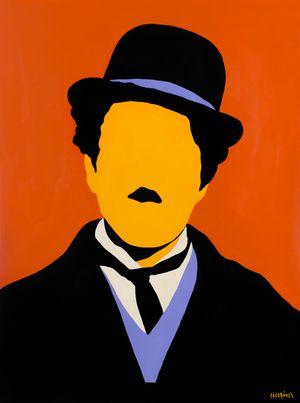 Charlie Chaplin by Coco Davez contemporary artwork