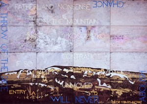 Nature Speaks: AQ by Imants Tillers contemporary artwork