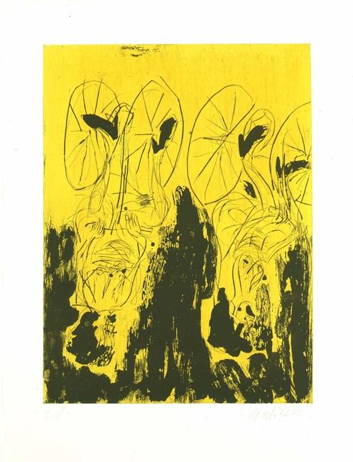 Die Maedchen von Olmo (from Remix) by Georg Baselitz contemporary artwork