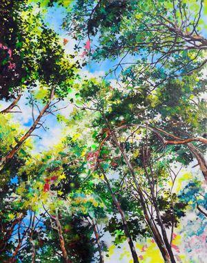 무덤 안에서 본 하늘 by Se-jun Lee contemporary artwork