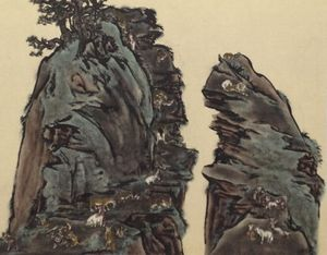 Stranger than Paradise - Twin Peaks by Yang Jiechang contemporary artwork
