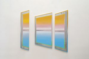 Rainbow Sequence: #6 by Kichang Choi contemporary artwork painting