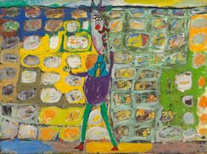 Rhéteur au mur by Jean Dubuffet contemporary artwork