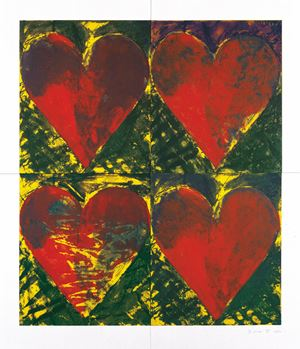 L.A Eye Works by Jim Dine contemporary artwork