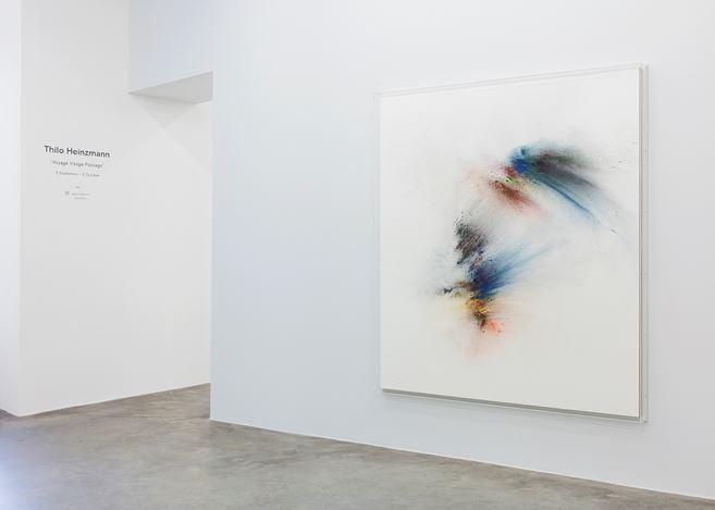 Exhibition view:Thilo Heinzmann, Voyage, Visage, Passage, Perrotin, Paris (7 September–5 October 2019). © Courtesy the artist & Perrotin.Photo: Claire Dorn.
