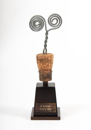 Bouchon de Bouteille en Spirale by Alexander Calder contemporary artwork