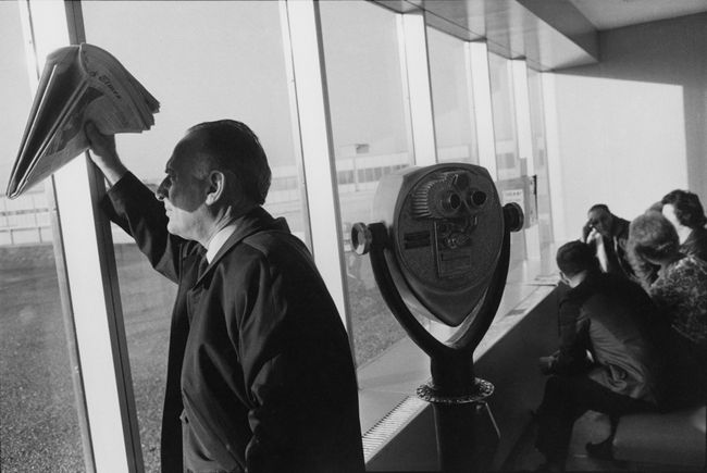 Los Angeles Airport by Garry Winogrand contemporary artwork