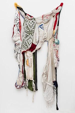 Tecidos Leves Atados em Força by Sonia Gomes contemporary artwork