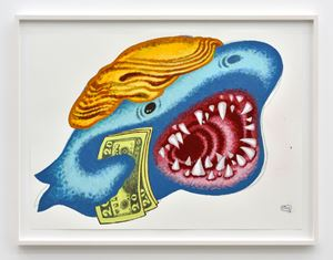 Trump Fish by Peter Saul contemporary artwork