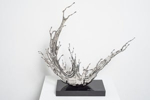 Water in Dripping No. 7 - Condensing Flow by Zheng Lu contemporary artwork