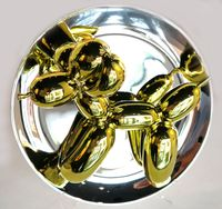 Balloon Dog (yellow) by Jeff Koons contemporary artwork sculpture