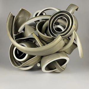 Chameleon by Ryan Labar contemporary artwork sculpture