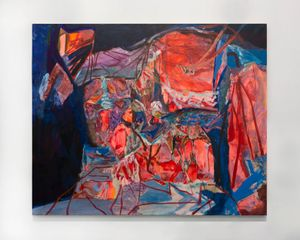 The place I chose to stand by Francesca Mollett contemporary artwork