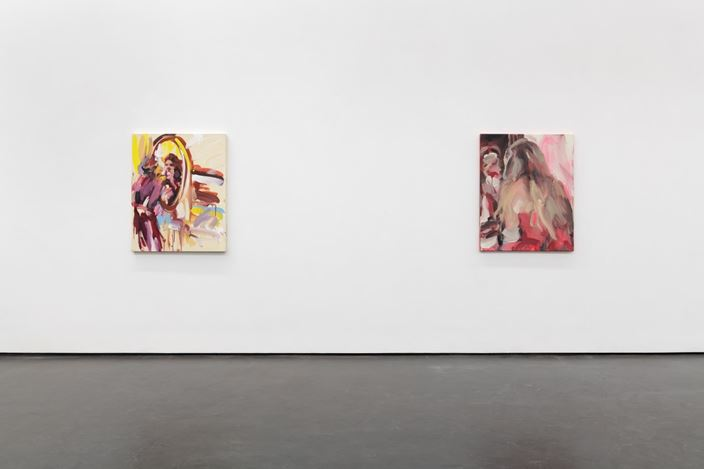 Exhibition view: Laura Lancaster,Inside the mirror, Wooson Gallery, Daegu (7 January–5 March 2021). Courtesy Wooson Gallery.