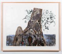 Yirrina, Muwuka and Buwaku by John Wolseley contemporary artwork print