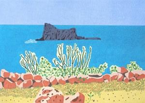 Sparkling Mediterranean by Jacqueline Balassa contemporary artwork