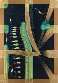 Omnium Gatherum 54 by Julia Morison contemporary artwork painting