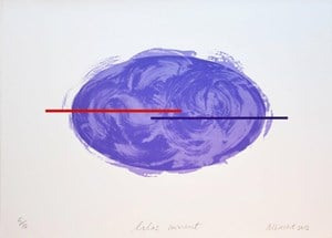 Lilac Current by Gretchen Albrecht contemporary artwork