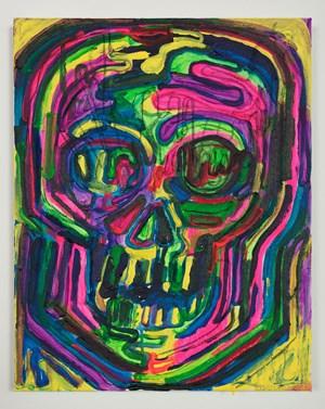 Soma (Neon) by Thomas Houseago contemporary artwork