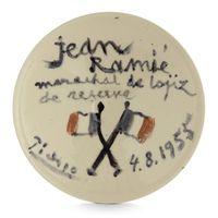 Jean Ramié, Maréchal des Logis de Réserve by Pablo Picasso contemporary artwork sculpture