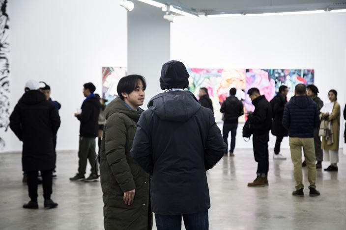 Exhibition view: Xiong Yu,Reveal, A Thousand Plateaus Art Space, Chengdu (15 December 2018–16 March 2019). Courtesy A Thousand Plateaus Art Space.