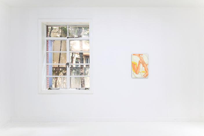 Exhibition view:Ivy Haldeman, (Hesitate),Capsule Shanghai (31 August–16 October 2019). Courtesy Capsule Shanghai.