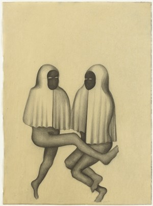 Las Devotas Novicias by Sandra Vásquez de la Horra contemporary artwork